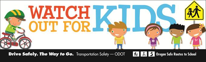 Image result for back to school time safety and caution concerning school busses in oregon