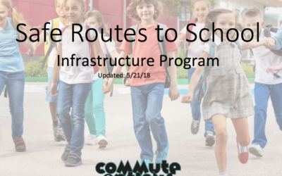 Safe Routes to School Funding Update
