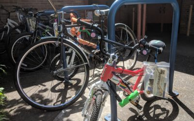 The Bike Fairy visited Portland for May Walk and Roll Challenge Month!