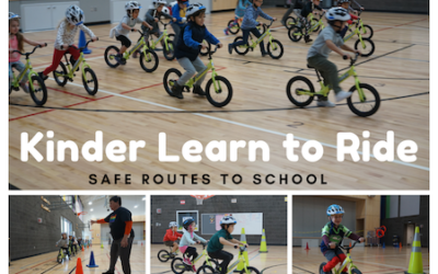 First Kinder Ride Program a Success in Eugene School District 4J's SRTS Program!